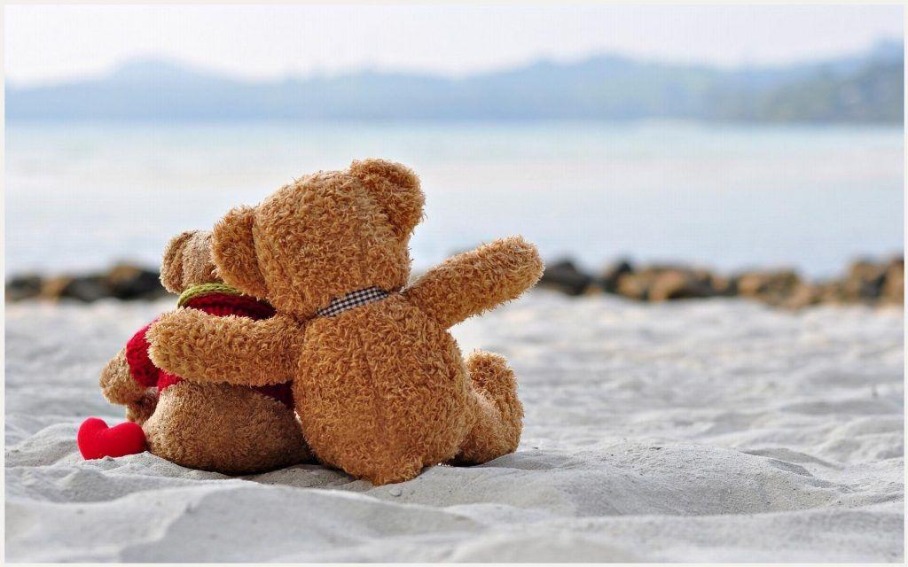 Cute Teddy Bears Romantic Wallpaper Cute Teddy Bears Romantic
