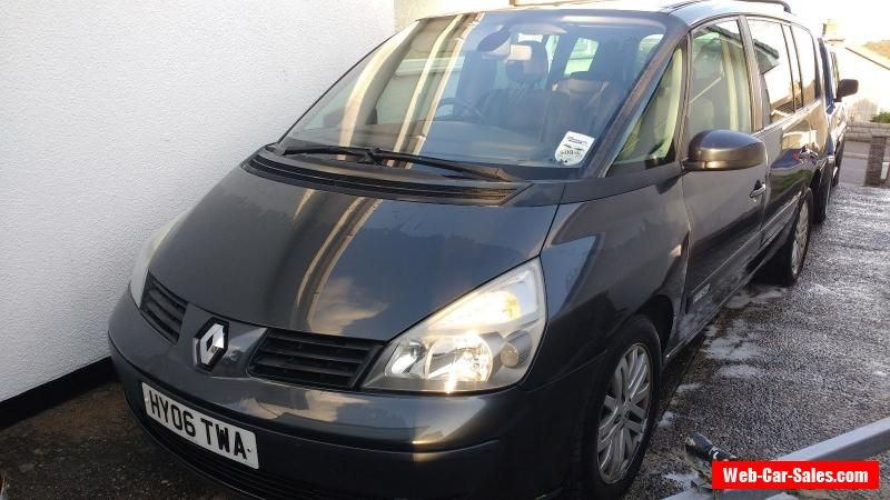 Renault Grand Espace 22dci Auto New MOT please read decription - boat bill of sale