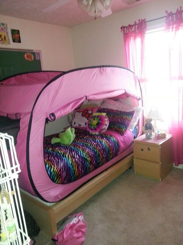 New privacy pop bed tent & Check out this adorable set up! | How do you Pop? | Pinterest ...