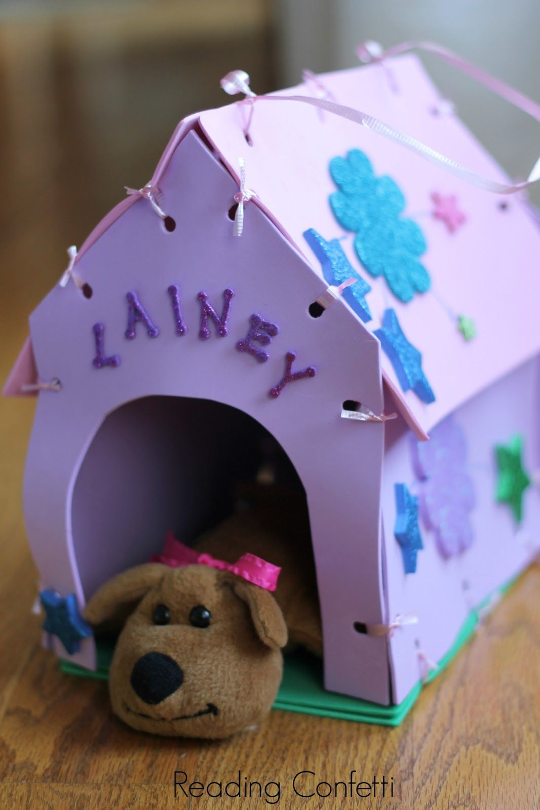 Make Your Own Stuffed Animal House And Carrier Dogs And Kids