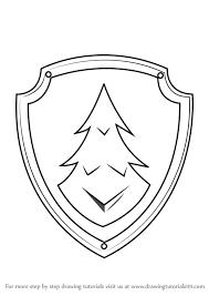paw patrol everest badge