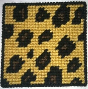 leopard print coasters set of 4 by daniellescrochetshop on etsy 1000 - Hakelmutzen Muster