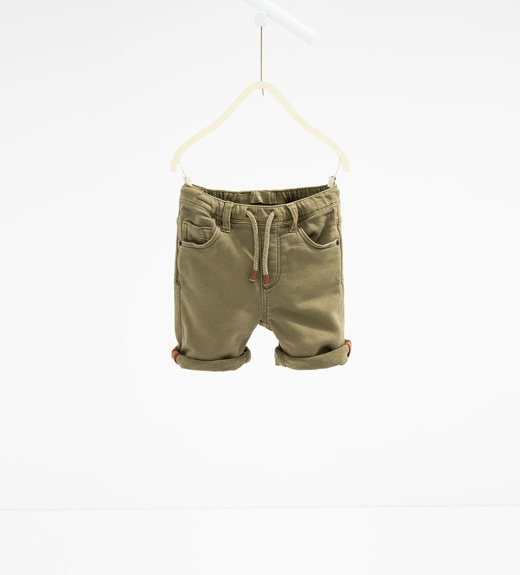 Image 1 Of Five Pocket Bermuda Shorts From Zara Fashion