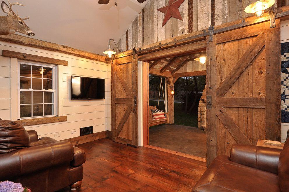 Barn Door Design Exterior Rustic With