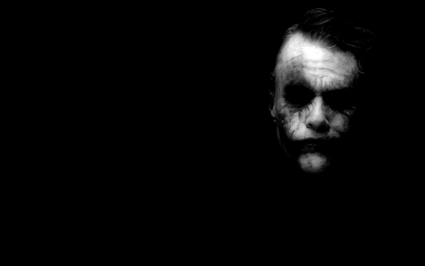 Movies heath ledger joker white the dark knight dark black batman wallpaper