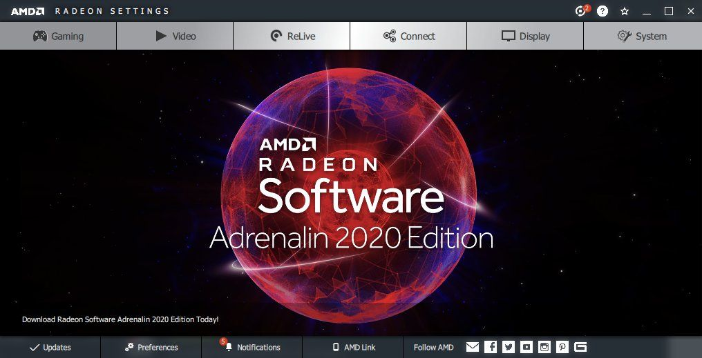Amd Adrenalin 2020 Drivers To Be 12 Faster Amd Graphic Card Software