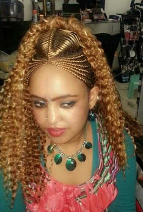Ethiopian traditional hair style | meakup and hair style ...