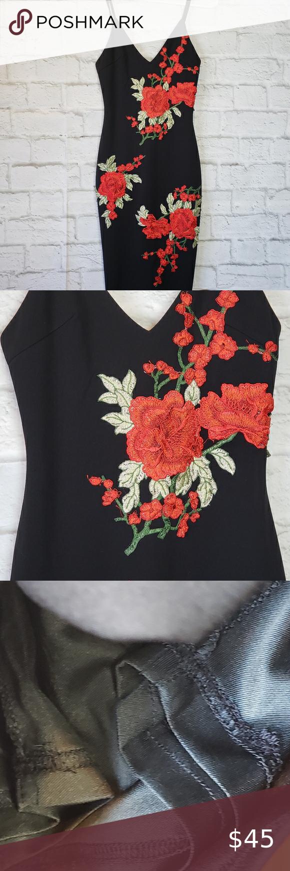 Angel Biba Black Dress Red Roses Xs Red Dress Colorful Dresses Clothes Design [ 1740 x 580 Pixel ]