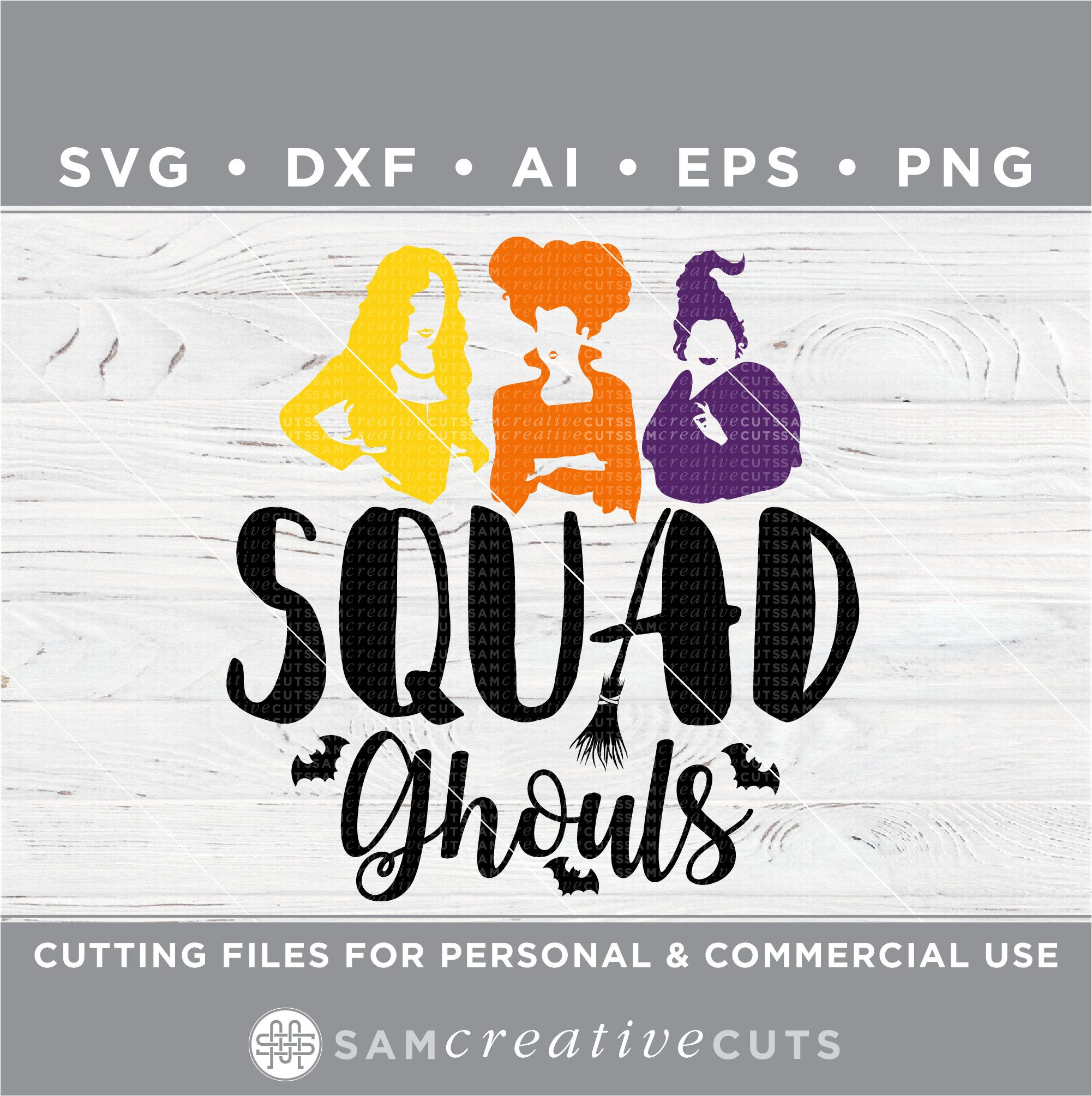 Hocus Pocus Squad Ghouls Svg Halloween Squad Goals Svg Etsy Web Graphics Squad Goals Ghoul