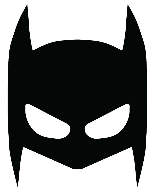 image relating to Printable Batman Mask named Superheroes masks upon Behance Occasion Programs Batman bash