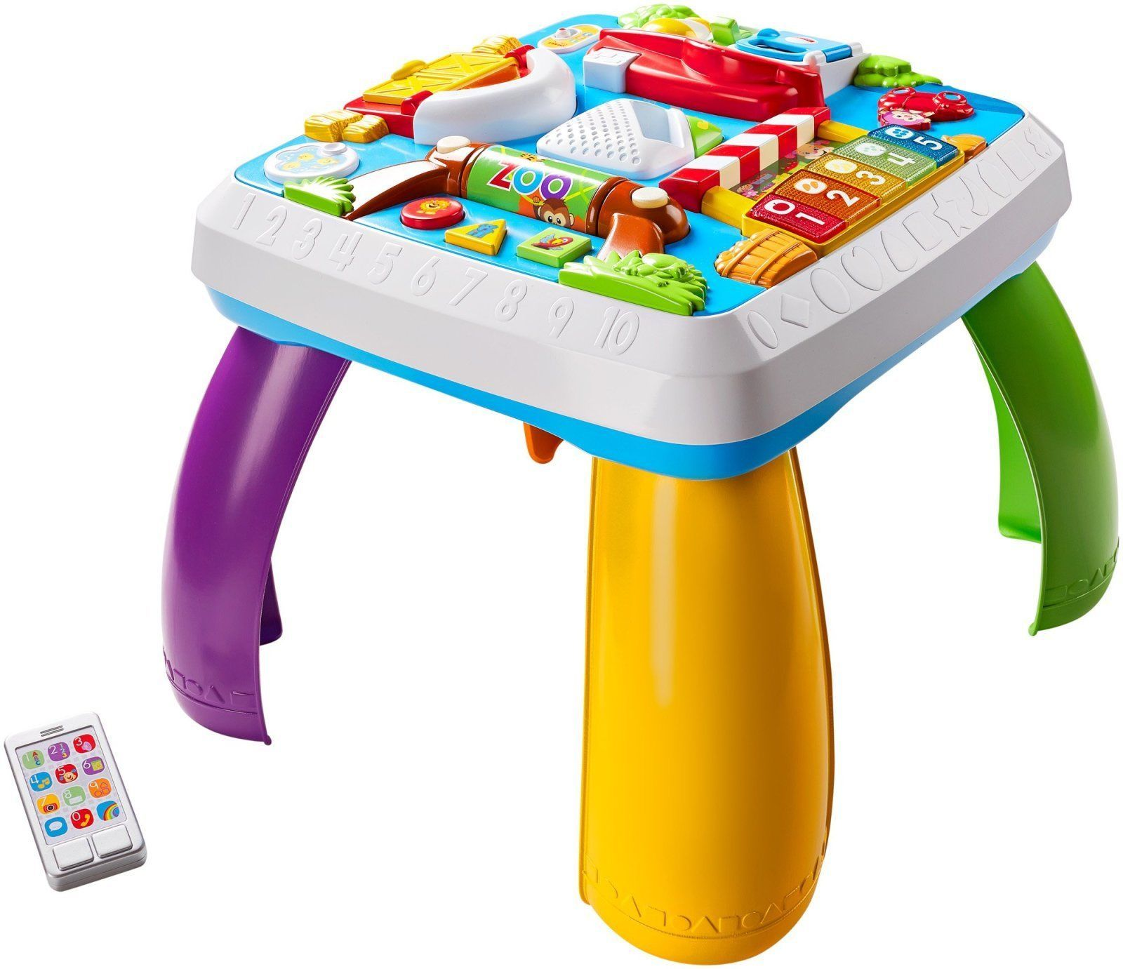 Fisher Price Laugh Learn Around Town Learning Table Kids Activity Fun Play New