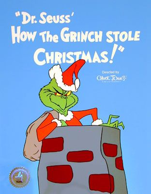 How The Grinch Stole Christmas 1966 Movie Poster.How The Grinch Stole Christmas On Tv For The First Time In