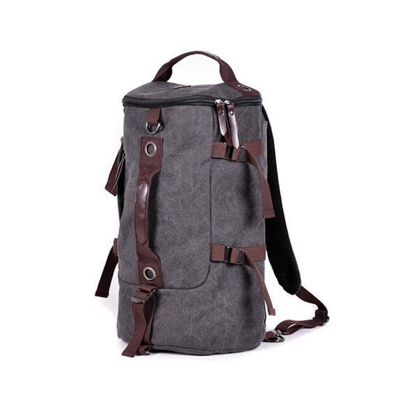 Adults Unisex Waterproof Backpacks Rucksack Travel Camping Duffle Canvas Bags