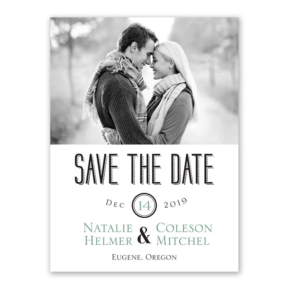 a wedding celebration save the date card save the date trends