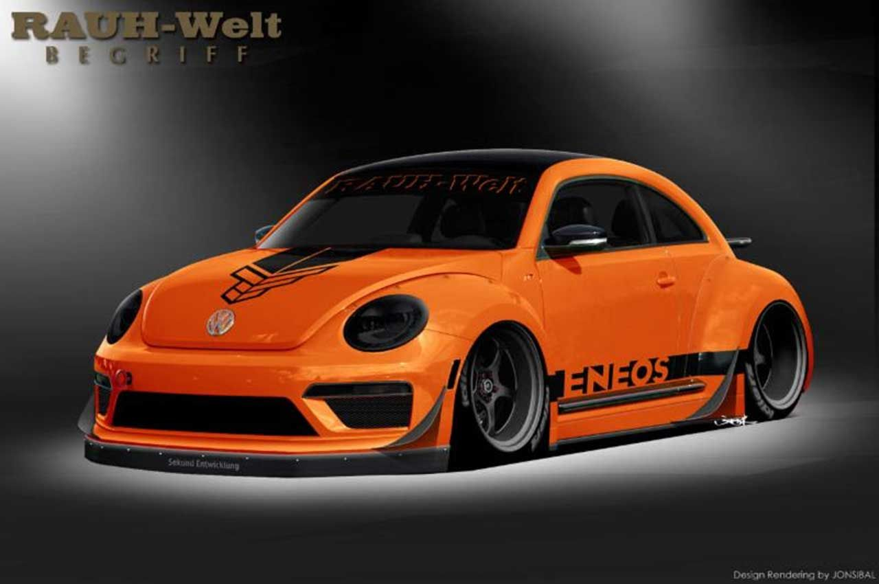 Tanner foust and rauh welt begriff volkswagen beetle r the above volkswagen beetle is a collaboration between vw rallycross driver and top gear usa