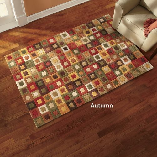 Amalfi Square Rugs from Through the Country Door®