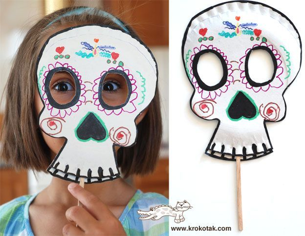 15 Hermosas creaciones que solo lograrás con foamy. Paper Plate MasksPaper ... & 15 Hermosas creaciones que solo lograrás con foamy | Paper plate ...