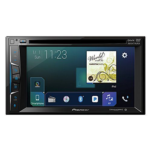 "Pioneer AVH1300NEX Multimedia DVD Receiver with 6.2"" WVGA"