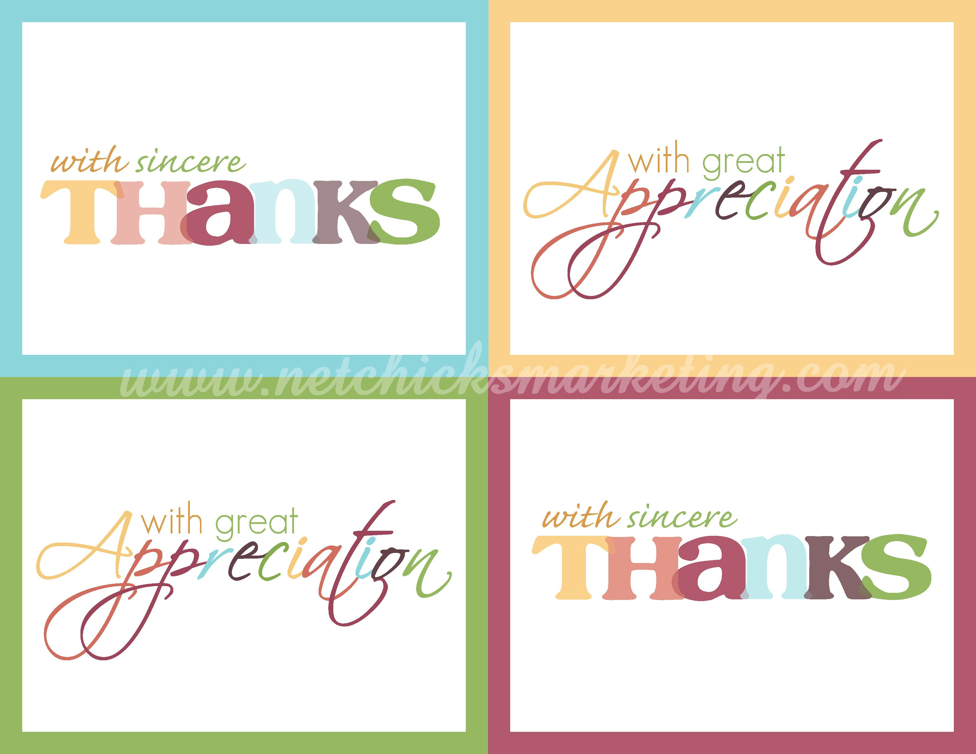 image regarding Printable Thank You Cards identified as Absolutely free Printable \