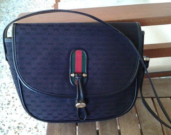 0e0a9601c4b Vintage Gucci bag by ALILALIA on Etsy