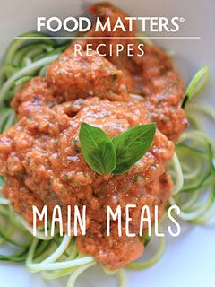 Food Matters Main Meal Recipes | FMTV