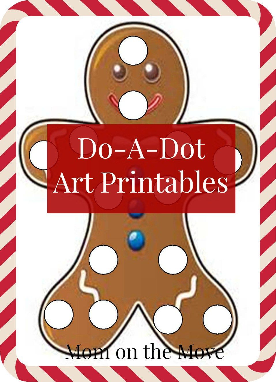 Doadot art printables do a dot christmas worksheets