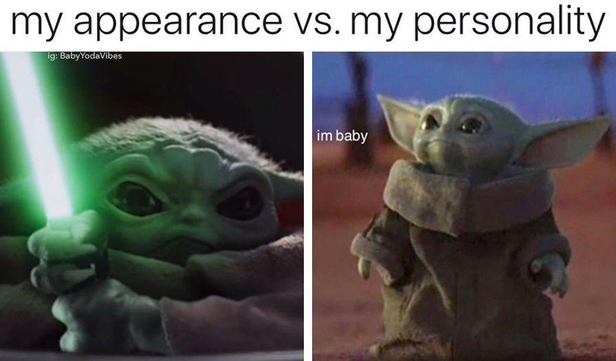 Baby Yoda Yoda Meme Funny Relatable Memes Funny Memes