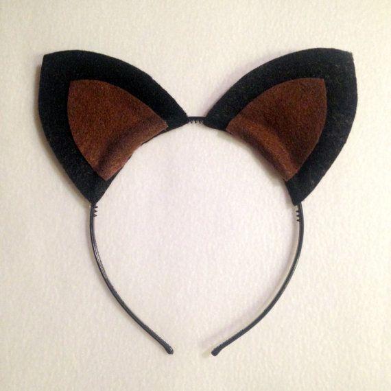 Custom Puppy Dog Ears Headband Boston Terrier Sheep German Shepard