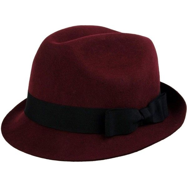 FRENCH CONNECTION Hat (1,010 MXN) ❤ liked on Polyvore featuring accessories, hats, filler, hair accessories, maroon, woolen hat, wool hat, maroon hat and french connection