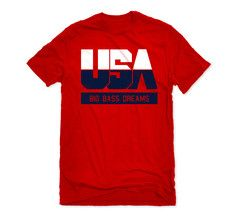 Our DREAM Team Graphic Tee now available on a vibrant red tee!  Represent the fastest growing movement in the game...