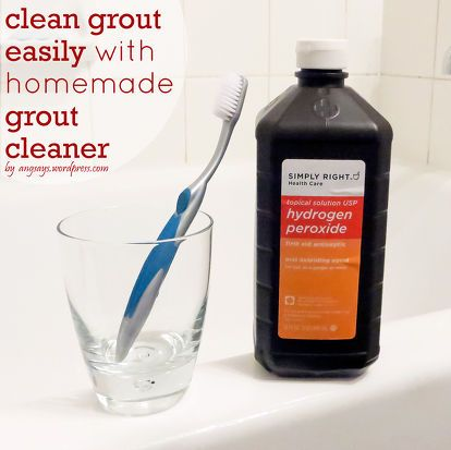 cleaning grout with homemade grout cleaner cleaning cleaning grout cleaner homemade grout. Black Bedroom Furniture Sets. Home Design Ideas