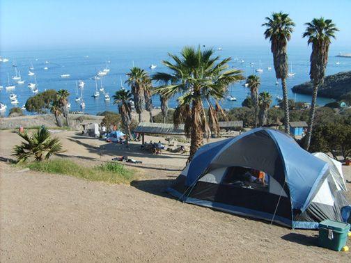 Camping At Two Harbors On Catalina Island