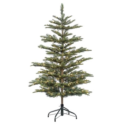 The Holiday Aisle Pre-lit Aspen 45\u0027 Green Fir Artificial Christmas