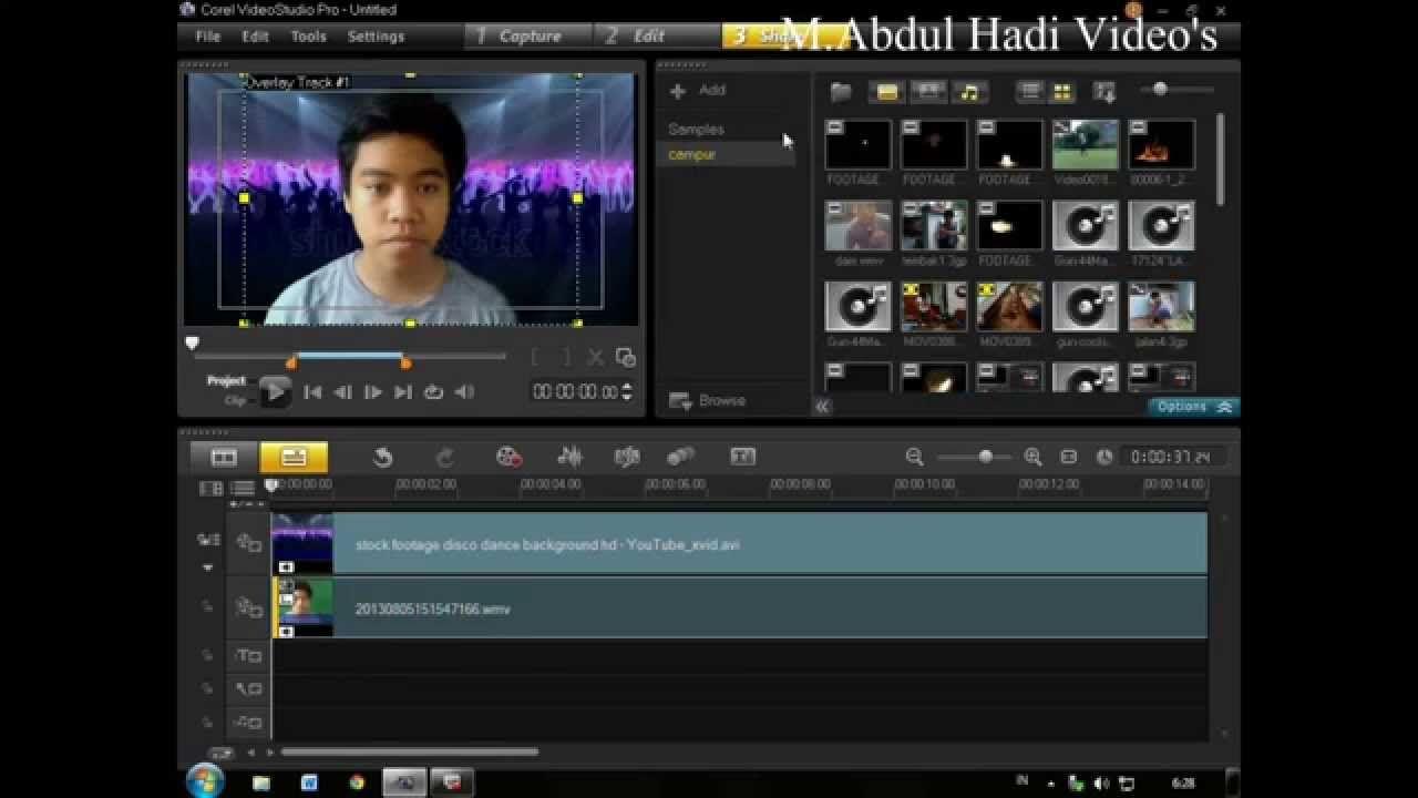 Chroma Key Tutorial with Corel VideoStudio Pro X6