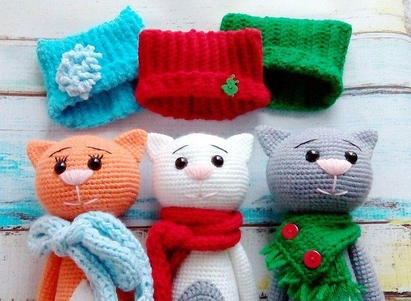 Crochet cats - free amigurumi patterns