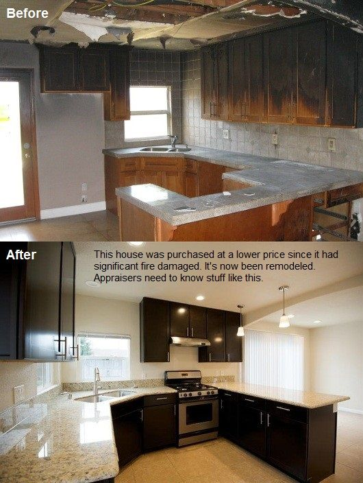 Pin By Beautiful Child On Before And After Home Remodels Rehab House Flipping Houses Kitchen Remodel Images