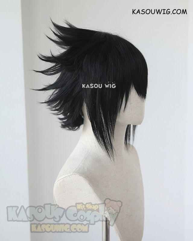 Kasou Wig Naruto Uchiha Sasuke Short Layered Spiky Black Cosplay Wig Cosplay Wigs Black Cosplay Wig Anime Wigs