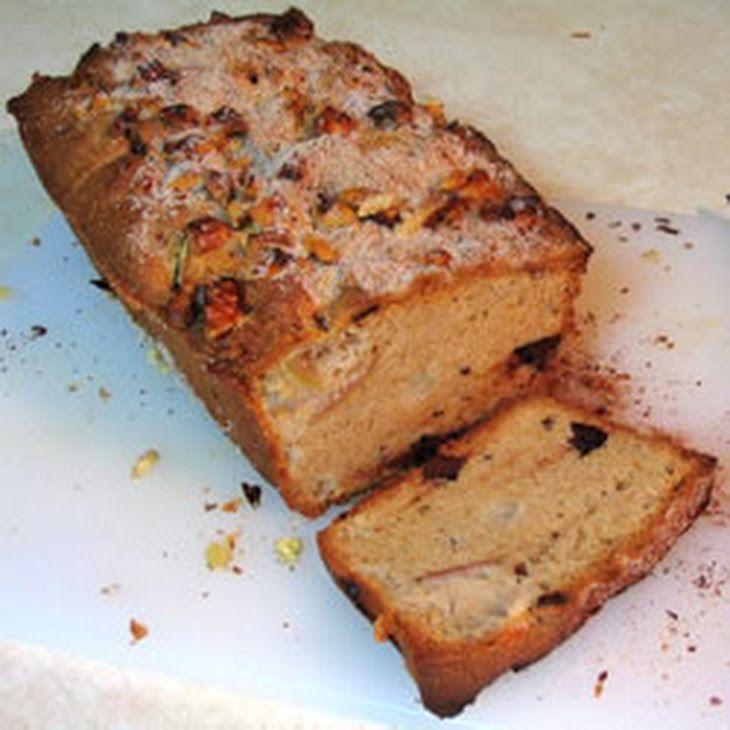 Chocolate Apple Bread Recipe Yummly Recipe Chocolate Apples Apple Bread Apple Recipes