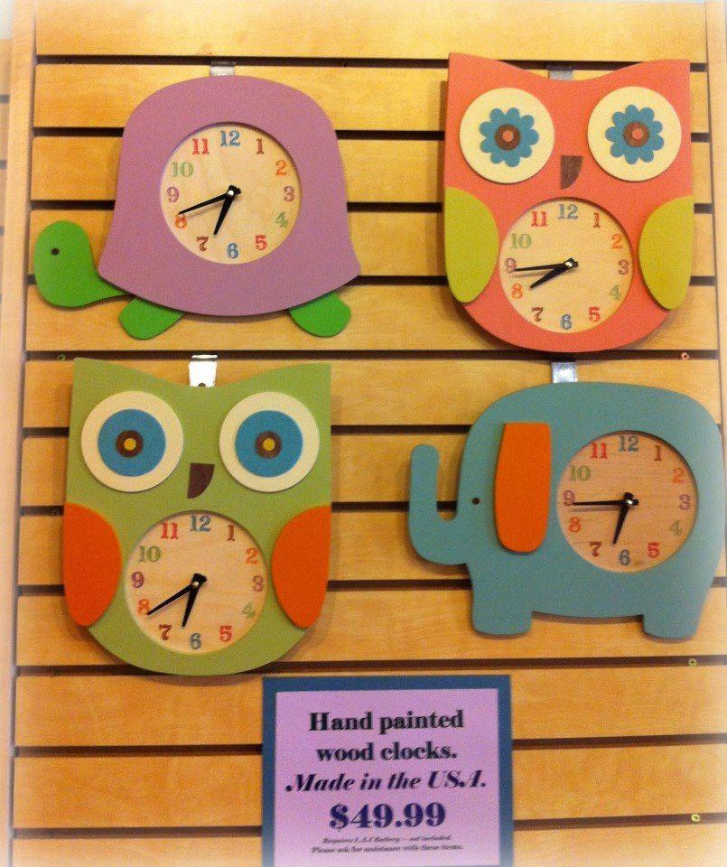 Handmade Painted Clocks Made In Usa Decoracao Decoracao Sala