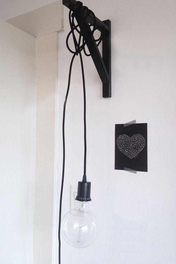 Une Applique Murale Design Pas Chere En Diy Chambre Diy Ikea