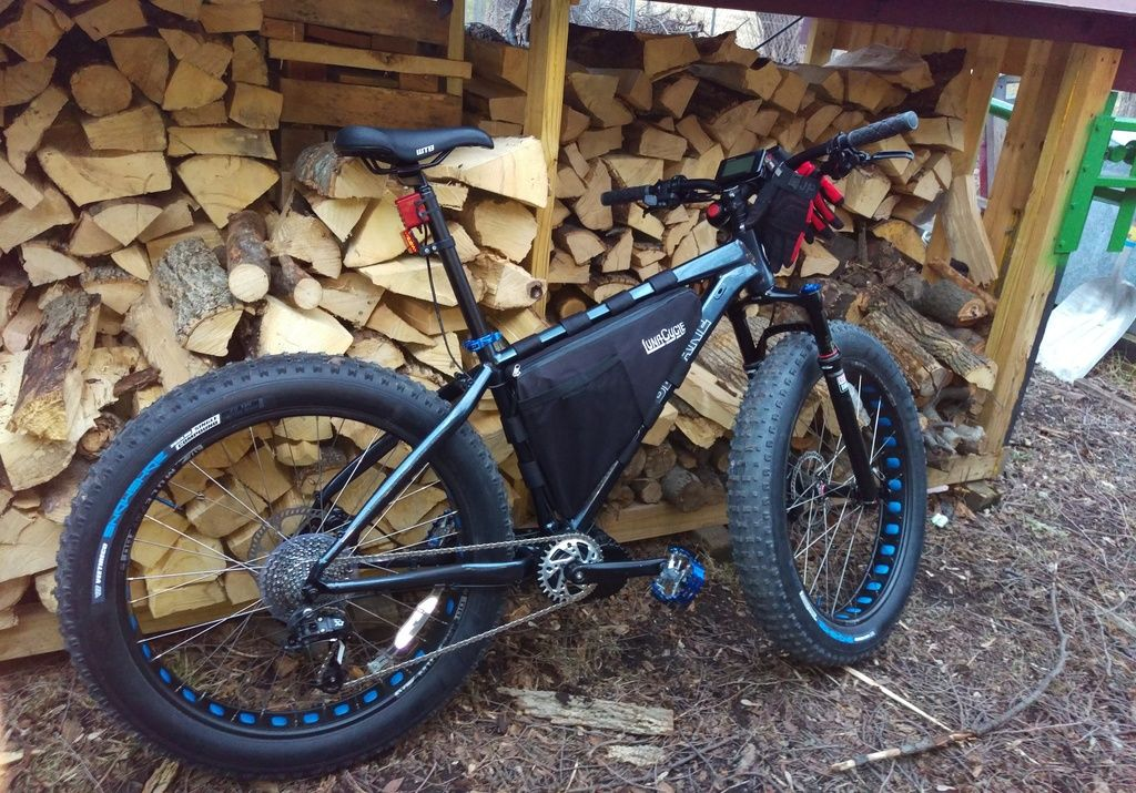 120mm Bbshd Build Motobecane Sturgis Bullet 20 Ah Triangle Pack Electricbike Ebike Forum