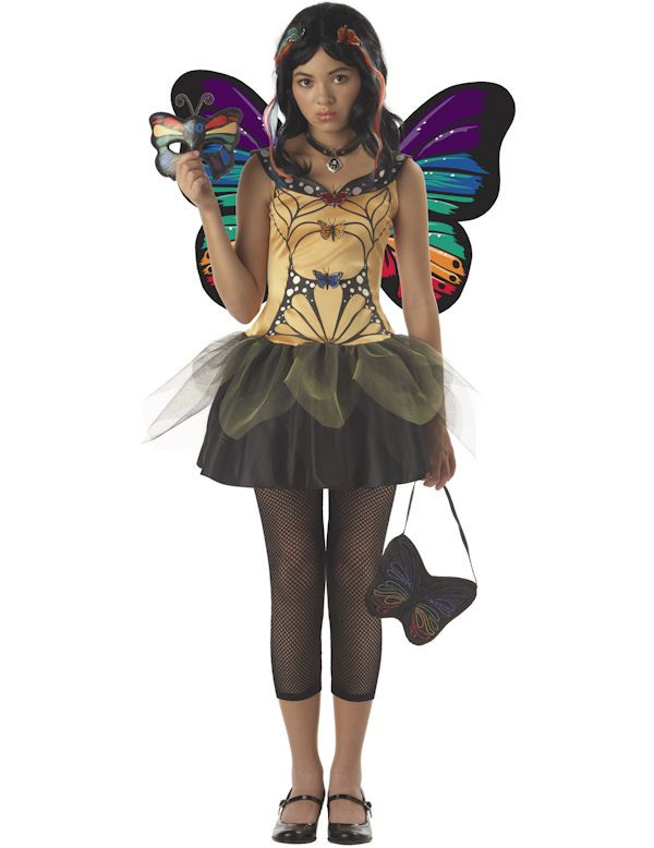 Tween Butterfly Masquerade Fairy Costume (for dd)  sc 1 st  Pinterest & Tween Butterfly Masquerade Fairy Costume (for dd) | Costumes ...
