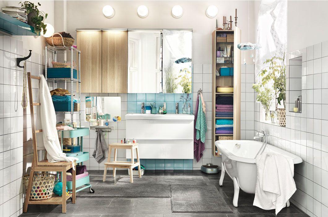 Ikea Badezimmermöbel ~ Nebeneinander statt nacheinander ikea inspirationen pinterest