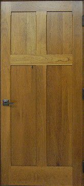 Craftsman Doors - Reverse Solid Cherry Door - traditional - interior doors - other metro - Homestead Doors Inc. : homestead doors - pezcame.com