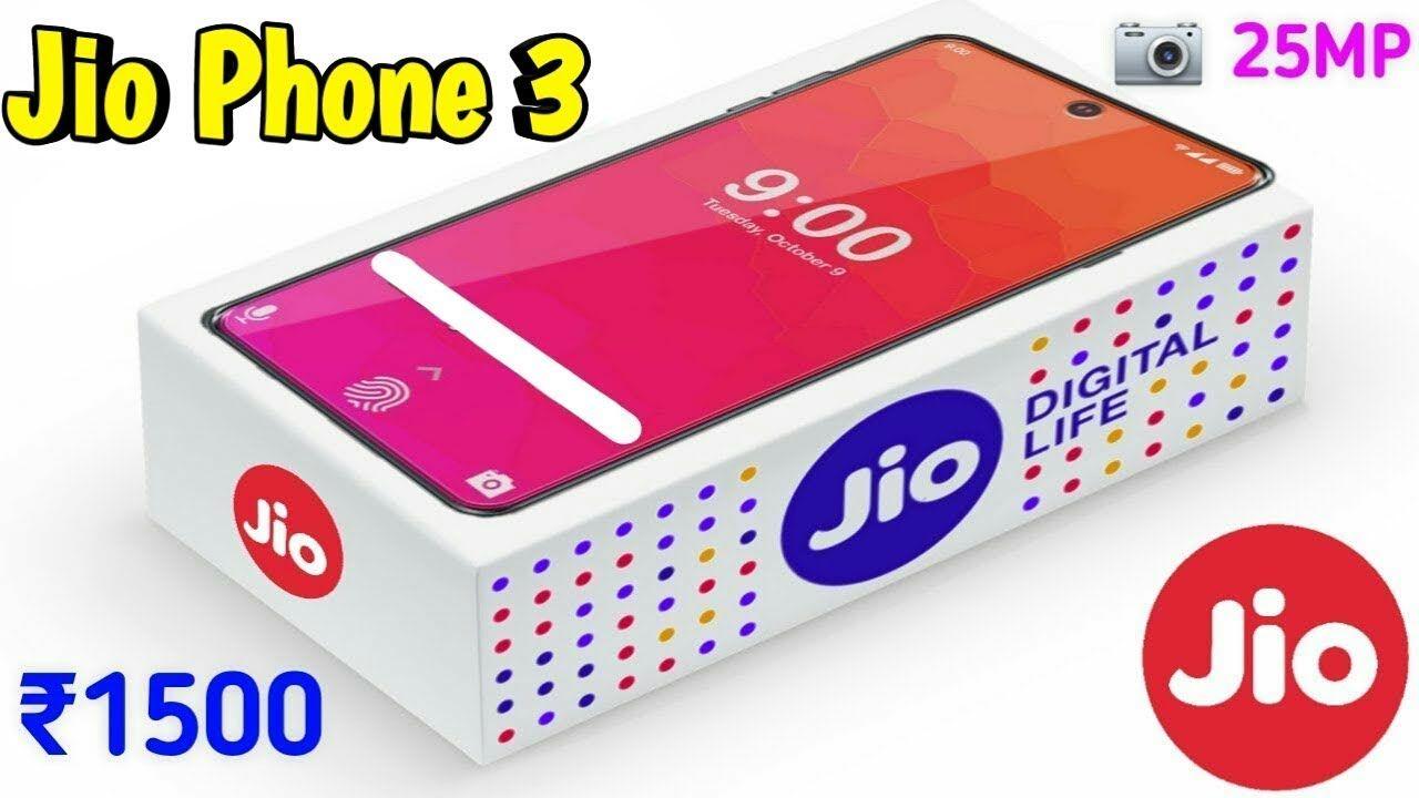 Jio phone 3 unboxing, jio phone 3 launch date, jio phone 3