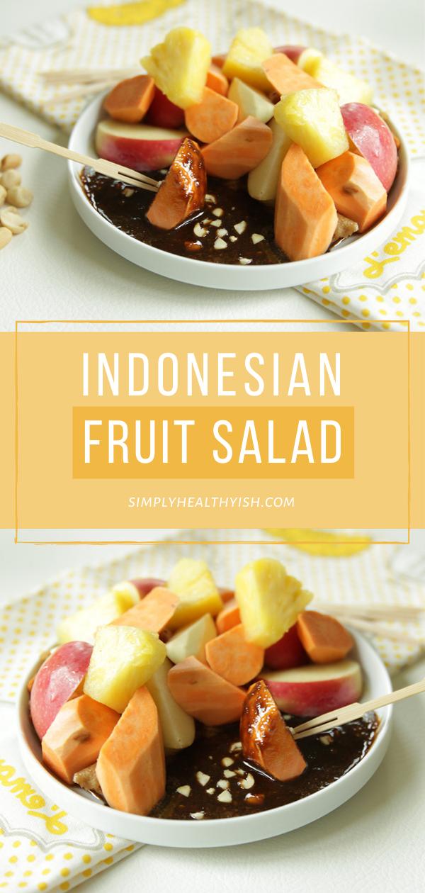 Rujak Buah Png : rujak, Rujak, (Indonesian, Fruit, Salad), Brunch-n-Bites, Recipe, Salad, Easy,, Recipes,, Recipes