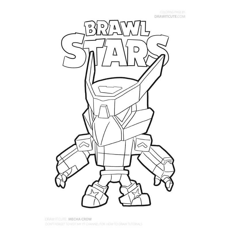 Brawl Stars Archives Color For Fun Boyama Sayfalari Cizimler Cizim Fikirleri