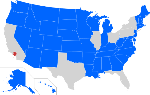 States With A Smaller Population Than The 10 Million Inhabitants - Map Of Us Population Electoral College