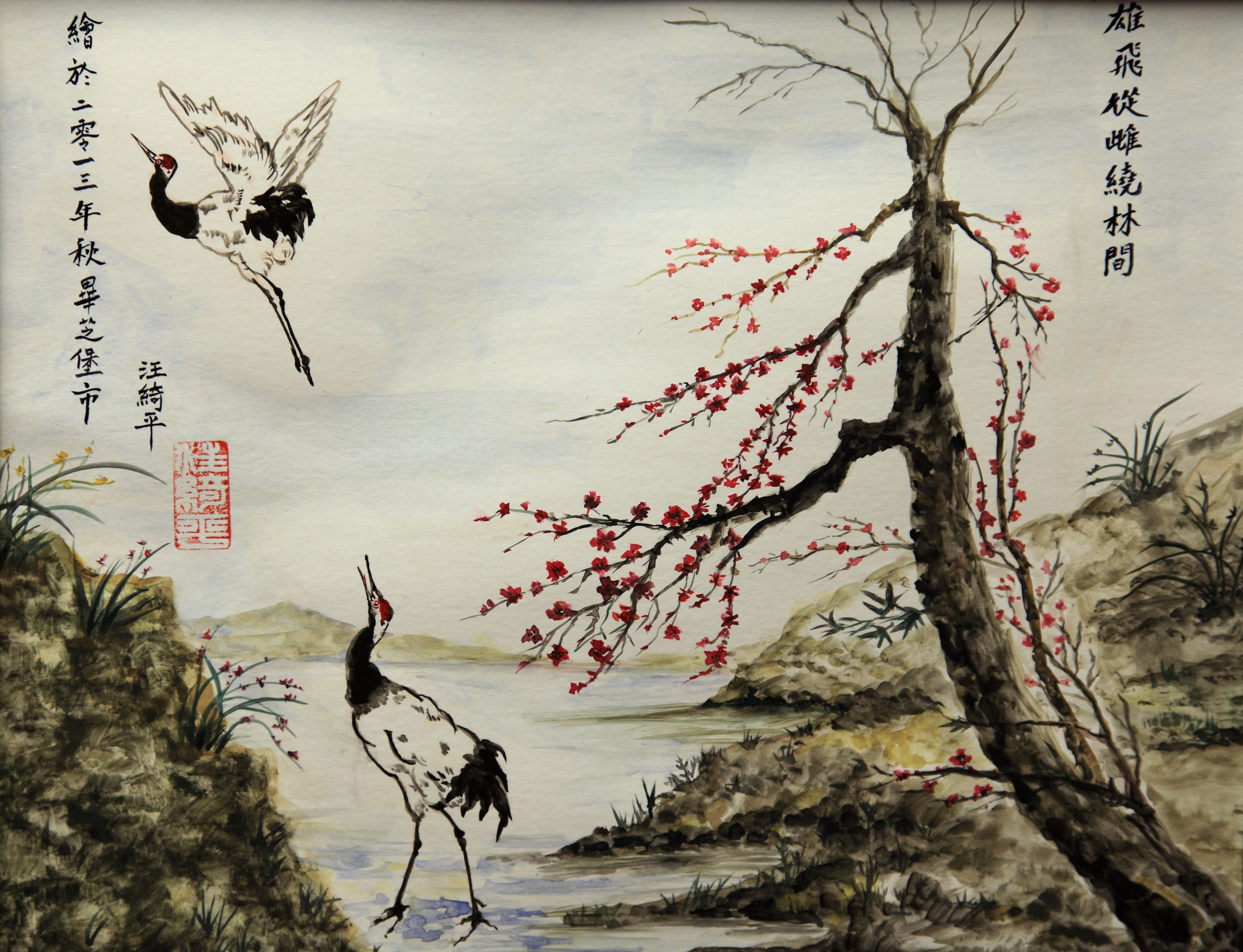 japanese ink paintings How do you control japanese beetles in the garden  crabapple apple  japanese maple norway maple rose crape myrtle pin oak birch.