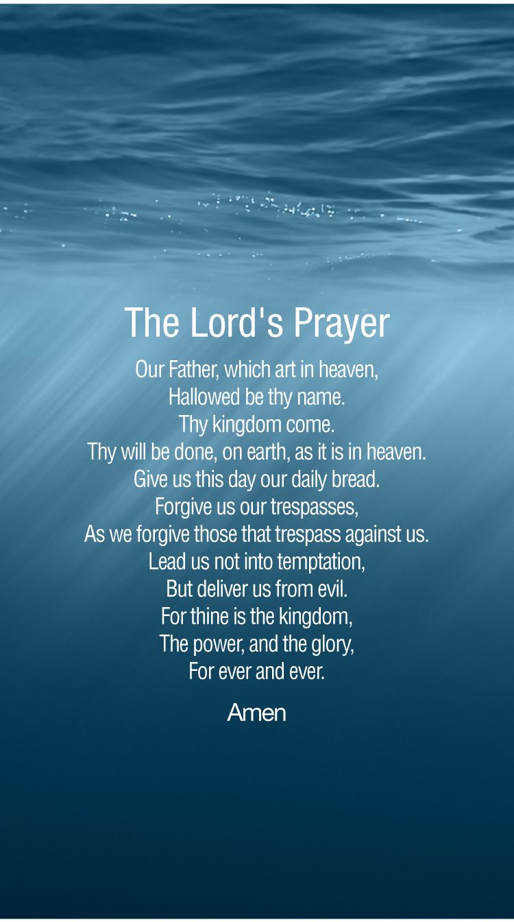The Lord S Prayer Iphone 6 Prayer Wallpaper The Lords Prayer Prayers